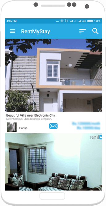 Service Apartments and hotels